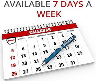 dentistry center open 7 days a week